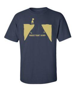 Make that jump t-shirt - navy blue