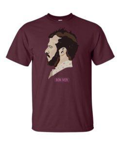 Bon Iver Maroon T-Shirt