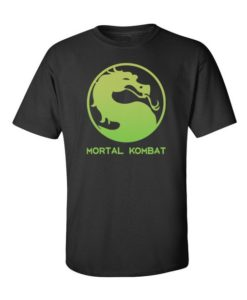Mortal Kombat Mens T-Shirt Black