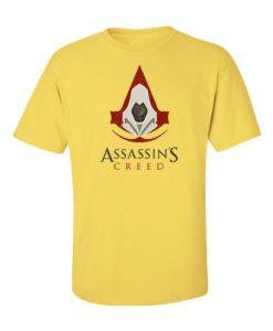 Assassins Creed Mens T-Shirt Yellow