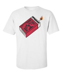 Bon Iver Matchsticks T-Shirts White