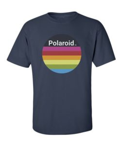 Polaroid Colors T-Shirt Navy Blue