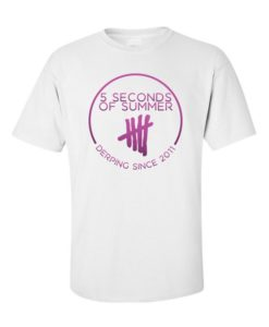 5 Seconds of Summer T-Shirt White