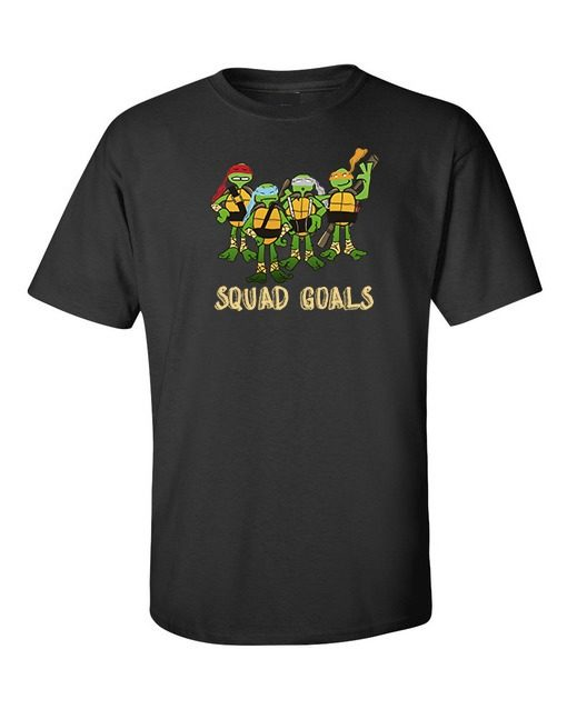 Teenage Mutant Ninja Turtles T-Shirt Black