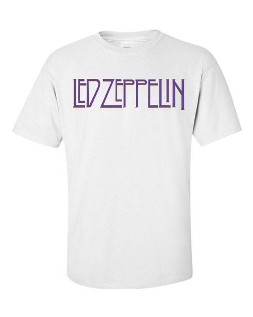 Led Zeppelin Identity T-Shirt White