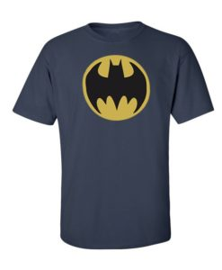Batman Logo T-Shirt Navy Blue