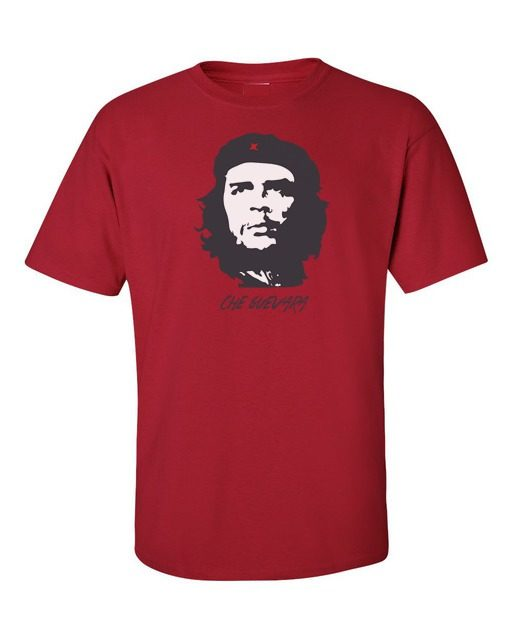 Che Guevara T-Shirt Cherry Red