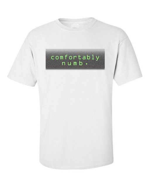 Pink Floyd Comfortably Numb T-Shirt White