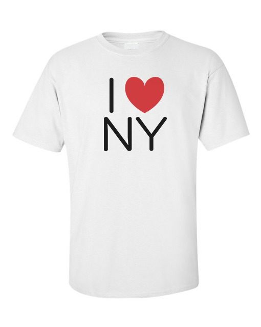 I Love NY City T-Shirt White