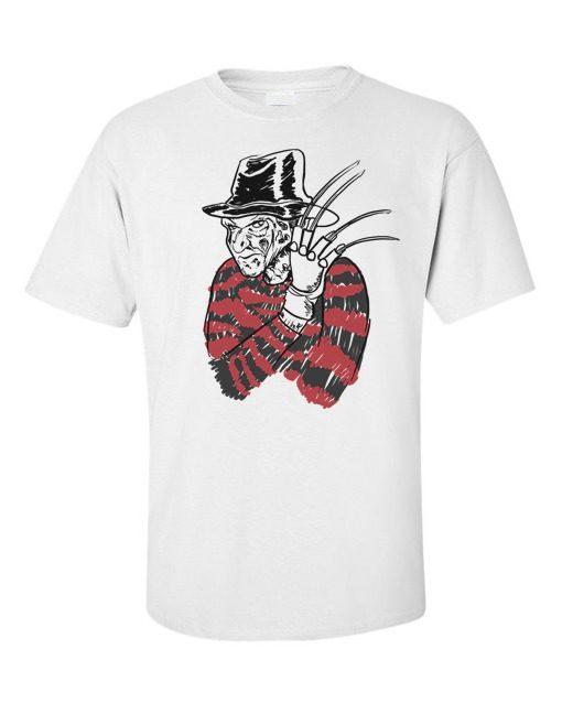 Freddy Kruger T-Shirt White