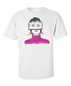 Hippie Girl T-Shirt White