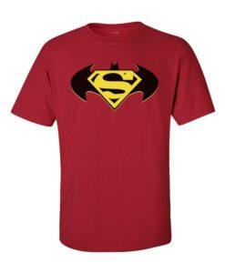 Batman V Superman Batman Symbol Cherry Red