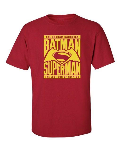 Batman V Superman Gotham Krypton Cherry Red