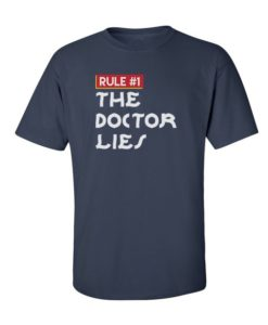 Doctor Lies Navy Blue