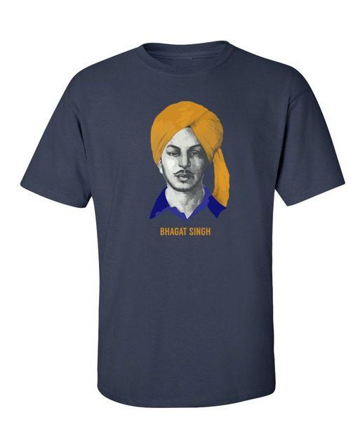Punjabi Bhagat Singh Navy Blue