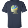 Brain Damage Navy Blue