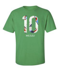 Football Messi Euro 16 Green