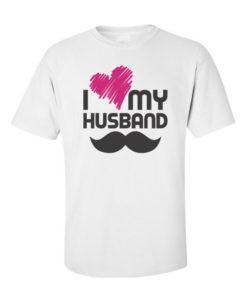 i love my husband white