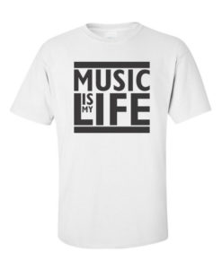 Music is Life White