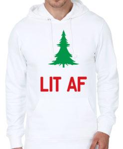 Lit AF White