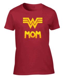 Wonder Mom Red