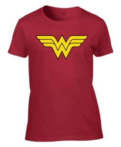 Wonder Woman Logo Red