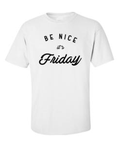 be nice white