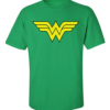 wonder woman symbol green