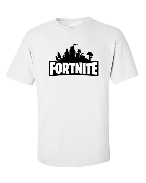 fornite logo white