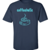 coffeeholic navy blue