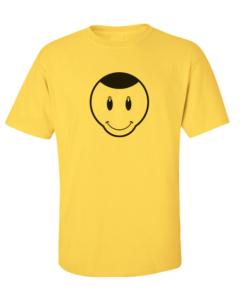 happy smile yellow