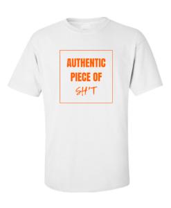 authentic shit white