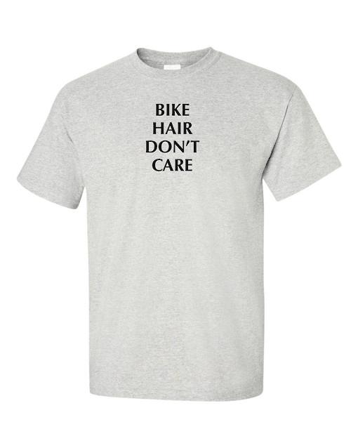 bike hair gray