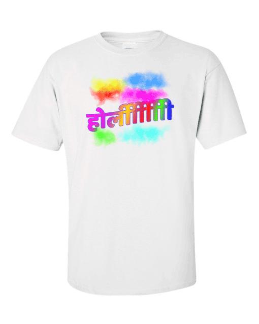 holi hindi white